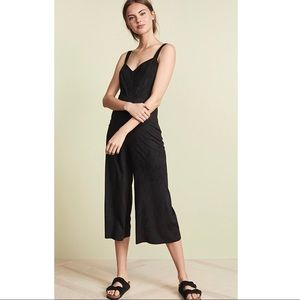 Jack by BB Dakota faux suede night n day jumpsuit